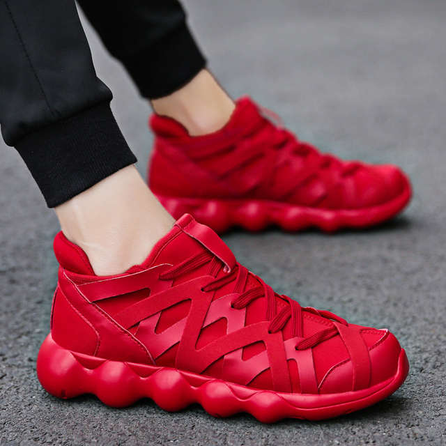 Модные красовки Для мужчин повседневная обувь кроссовки 2018 дышащая брендовая Повседневное Спорт на открытом воздухе Горячие Tenis Masculino свет Вес обувь