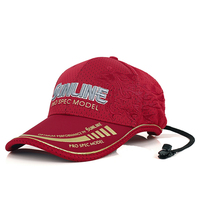 Summer 2019 Professional Sun Protection Fishing Hat Breathable Adjustable Sun Cap  Sports Head Wear Golf Running Anti-UV Hats