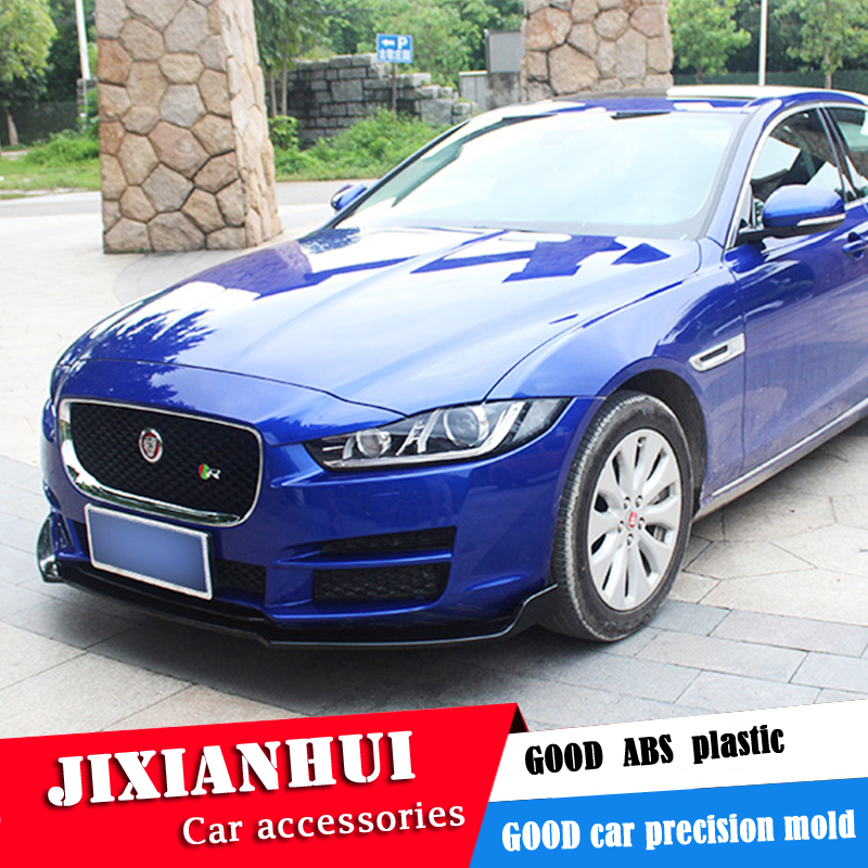 For Jaguar XE/XEL Body kit spoiler 2018 2020 For Jaguar XE/XEL ABS Rear lip rear spoiler front Bumper Diffuser Bumpers Protector|Body Kits| |  - title=
