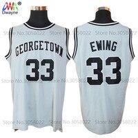 1982 Mens Dwayne Cheap Throwback Basketball Jersey Patrick Ewing Jersey 33 Georgetown Hoyas College Vintage Gorilla