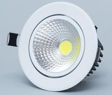 1pcs  9w 12W 15W led Ceiling light  dimmable COB  Epistar LED ceiling lamp Recessed Spot light 110V-220V for home illumination
