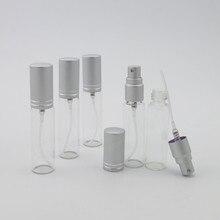 300x10 مللي فارغة المحمولة الزجاج زجاجات عطور زجاجة 10cc سفر صغيرة زجاجة رذاذ العطر غرامة ضباب عيد الميلاد يوم هدية