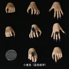 ФОТО 4 pairs/Set  12 Female Phicen Jiaodol Figure Body  Colors 1/6 Scale Hands Type