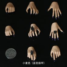 "4 pairs/Set For 12"" Female Phicen Jiaodol Figure Body Colors 1/6 Scale Hands Type(China)"