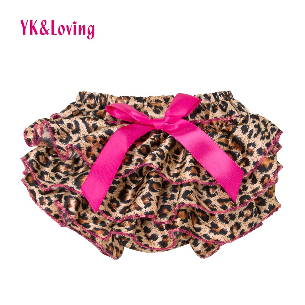10 Colors Bloomers Leopard Girl PP Shorts For Gift Cute Layers Short Girls Zebr Print Children's Wear Wholesale/Retail