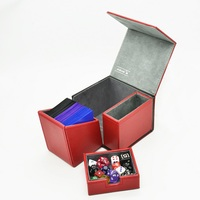 TW Card Box Game Of Thrones Stark Family Wolf Symbol Boxes Board Game Cards Box Dice