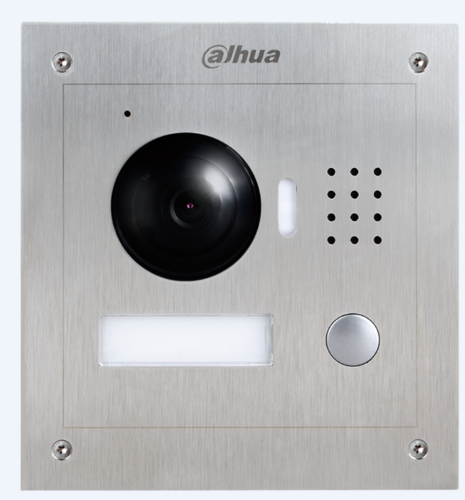 DH IP Video Intercom DA-VTO2000A POE Outdoor Station for villa POE 1.3MP Villa Video Intercom Outdoor Station Video Door Phon dh vto2000a 1 3mp video door phone poe p2p metal villa outdoor station remote intercom night vision with logo dh vto2000a