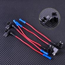 5pcs Car Auto Add-A-Circuit Fuse Tap Adapter Holder Low Profile Mini APS ATT Micro Blade