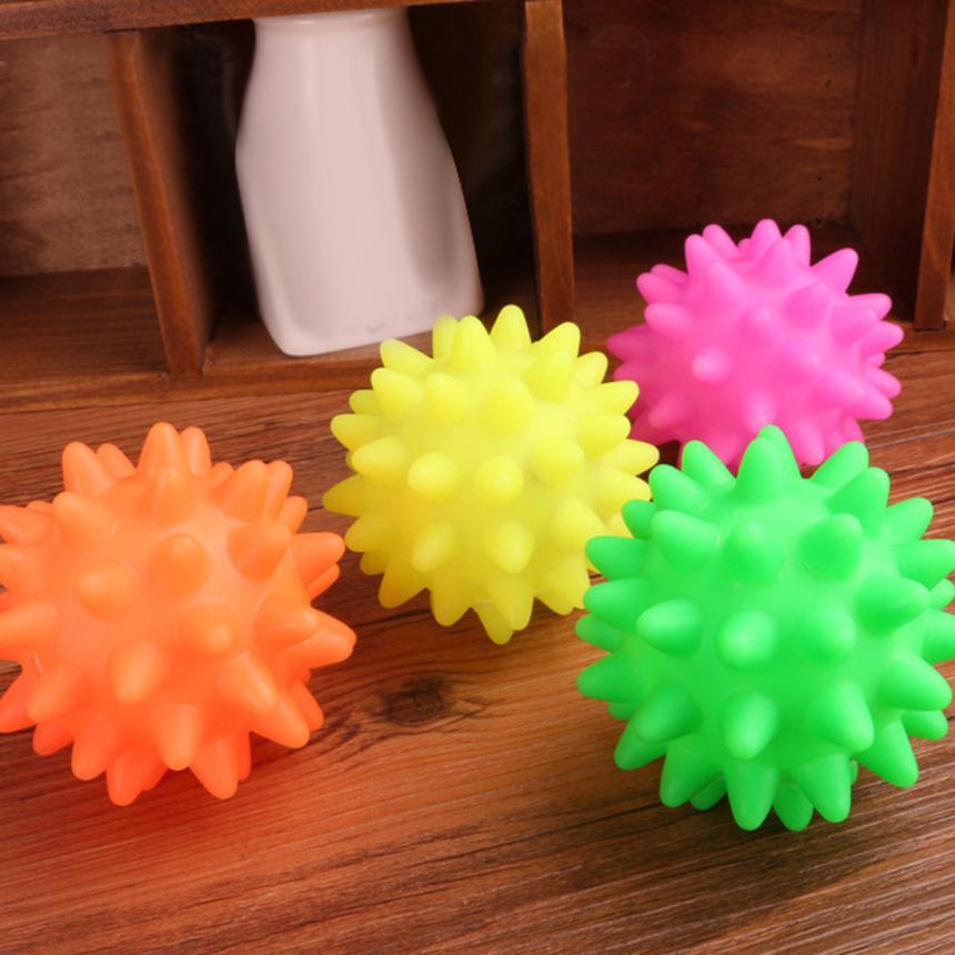 f7925dd6ffe2 1pc Όμορφη νέα καουτσούκ μπάλα παιχνίδι σκύλου Pet διασκέδαση ...