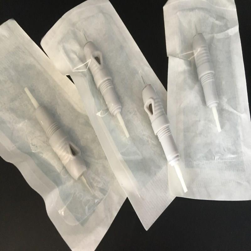 100pcs lot 1RL 3RL 5RL 5F 7F 1D Disposable Screw Tattoo Needle Cartridge For Premium Charmant