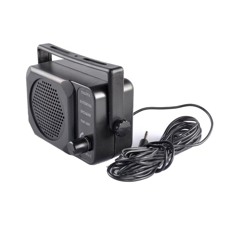 New Mini External Speaker NSP-150v Ham For Kenwood Motorola ICOM Yaesu Walkie Talkie Two Way CB Ham Radio