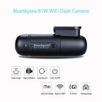 Blueskysea Mini WiFi Car Dash Camera DVR Camera H.264 360 Degree MP4 Rotate Capacitor G Sensor B1W 1080P IMX323 Novatek GM8135S