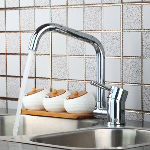 Best Hot Cold Unique Design Single Handle Kitchen Torneira Swivel Chrome 92430 Basin Sink Water Vessel