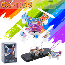 Cheerson CX10DS CX-10DS Remote Control Wifi Mini Drone LED RC Helicopter Quadcopter Aircraft Air Plane Toy Kids Gift Toys