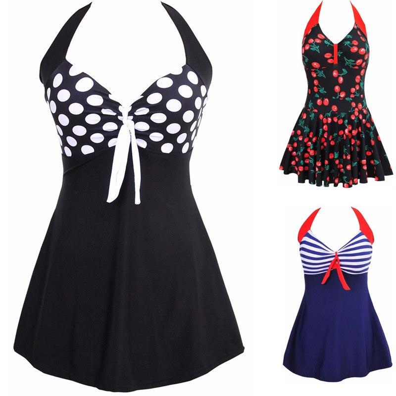 5ea774241d00cd Sexy Plus rozmiar paskiem wyściełana Halter spódnica stroje kąpielowe  kobiety jednoczęściowe kostiumy strój kąpielowy kostiumy kąpielowe stroje  kąpielowe ...