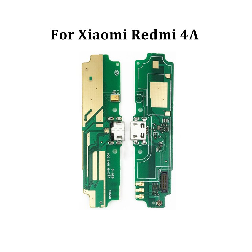 For Xiaomi Redmi 4A USB Plug Charging Charge Port Dock Flex Cable With Microphone Board Replacement