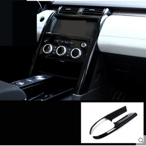 For Land Rover Discovery Sport 2015 2016 Car Styling Aluminium Alloy Central Console Trim Accessories New Arrivals yaquicka car central console gear shift panel frame trim styling cover for land rover discovery sport 2015 2016 accessories