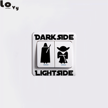 star wars Classic Movie Dark Side Light Side Switch Sticker