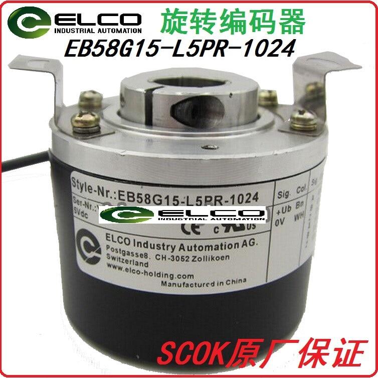 цена на ELCO rotary encoder EB58G15-L5PR-1024 encoder