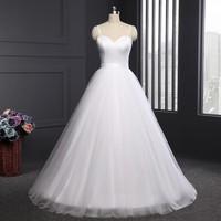 Spaghetti Strap Beach Wedding Dresses 2017 LORIE Vestido Noiva Praia Simple White Tulle Casamento Bridal Gowns