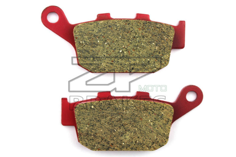 Motorcycle parts Brake Pads Fit HONDA CB500X (Non ABS) 2013-2014 Rear OEM Red Ceramic Composite Free shipping аксессуар чехол накладка stone age jungle collection wood skin for iphone 6 plus blue w8584