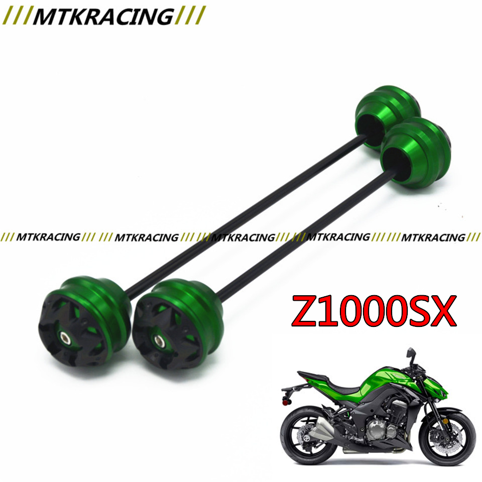 MTKRACING Free delivery for KAWASAKI Z1000SX 2011-2015 CNC Modified+Motorcycle Front wheel drop ball / shock absorber yuvraj singh negi biopolymers for targeted drug delivery systems
