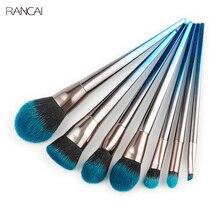 цена на 7cs Makeup Brushes Set Diamond Handle Powder Foundation Blusher Contour Eyebrow Eyeshadow Brush Cosmetic Tools Pincel Maquiagem