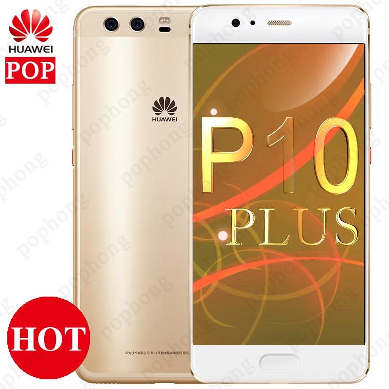 Global ROM Huawei P10 Plus 4G LTE Mobile Phone Kirin 960 Octa Core 6GB RAM 64GB