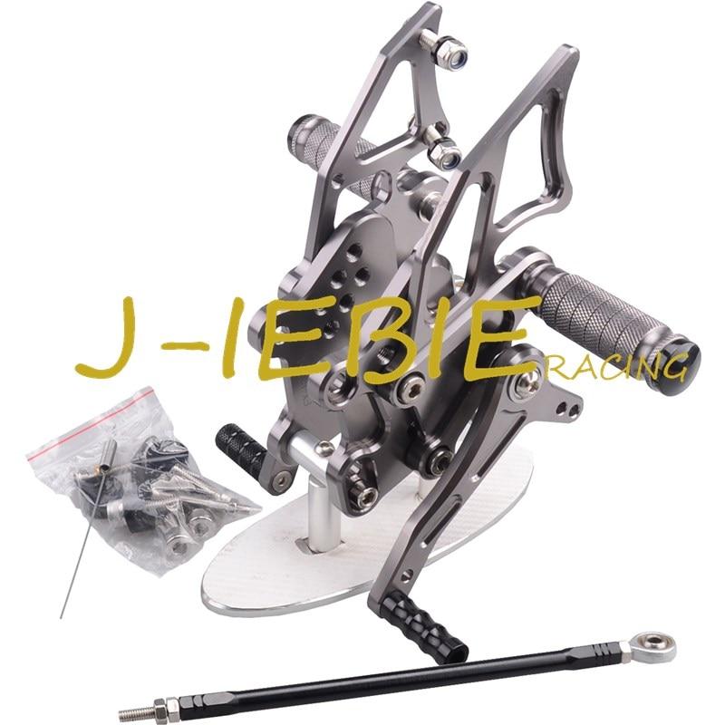 CNC Racing Rearset Adjustable Rear Sets Foot pegs Fit For Kawasaki NINJA EX300 300R 2013 2014 2015 TITAINUM cnc racing rearset adjustable rear sets foot pegs fit for honda cbr600 cbr 600 f4 f4i 1999 2000 2001 2002 2003 2004 2005 2006