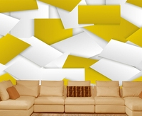 Free Shipping Abstract Geometry Modern Minimalist Backdrop 3D HD Large Mural Personalized Custom Wallpaper Qiangbu