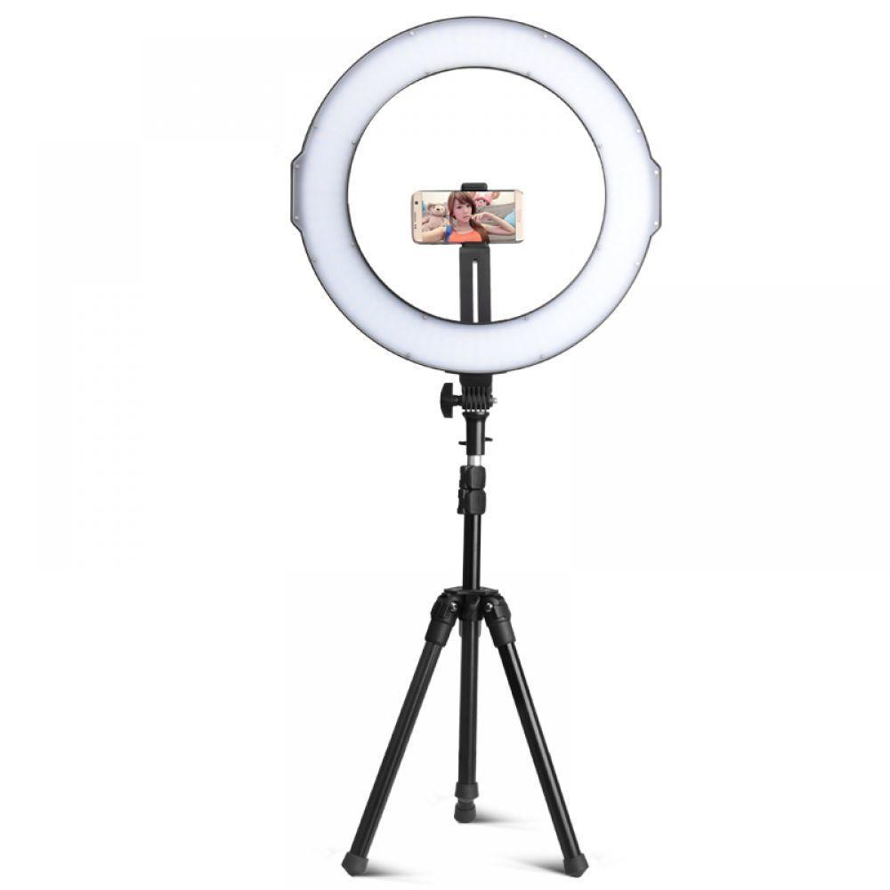 2018 QZSD Professional Q233 3kg load Led light tripod stand live stand digital video dslr camera tripod phone mini table tripod