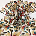 2016 Hot Sale Satin Square Silk Scarf printing For Ladies,New Arrival Women Silk Scarves 90*90cm