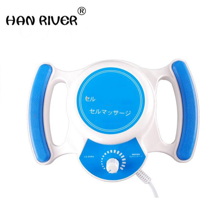 Hand-held slimming Cell Roller waist massage for shaping arm leg waist massager device lose weight health care Device 3 heads цены