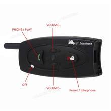 Wireless Talking Two-way Wireless Communication 2 x Motorcycle 500m Bluetooth Intercom Wireless Headset Bluetooth Interphone