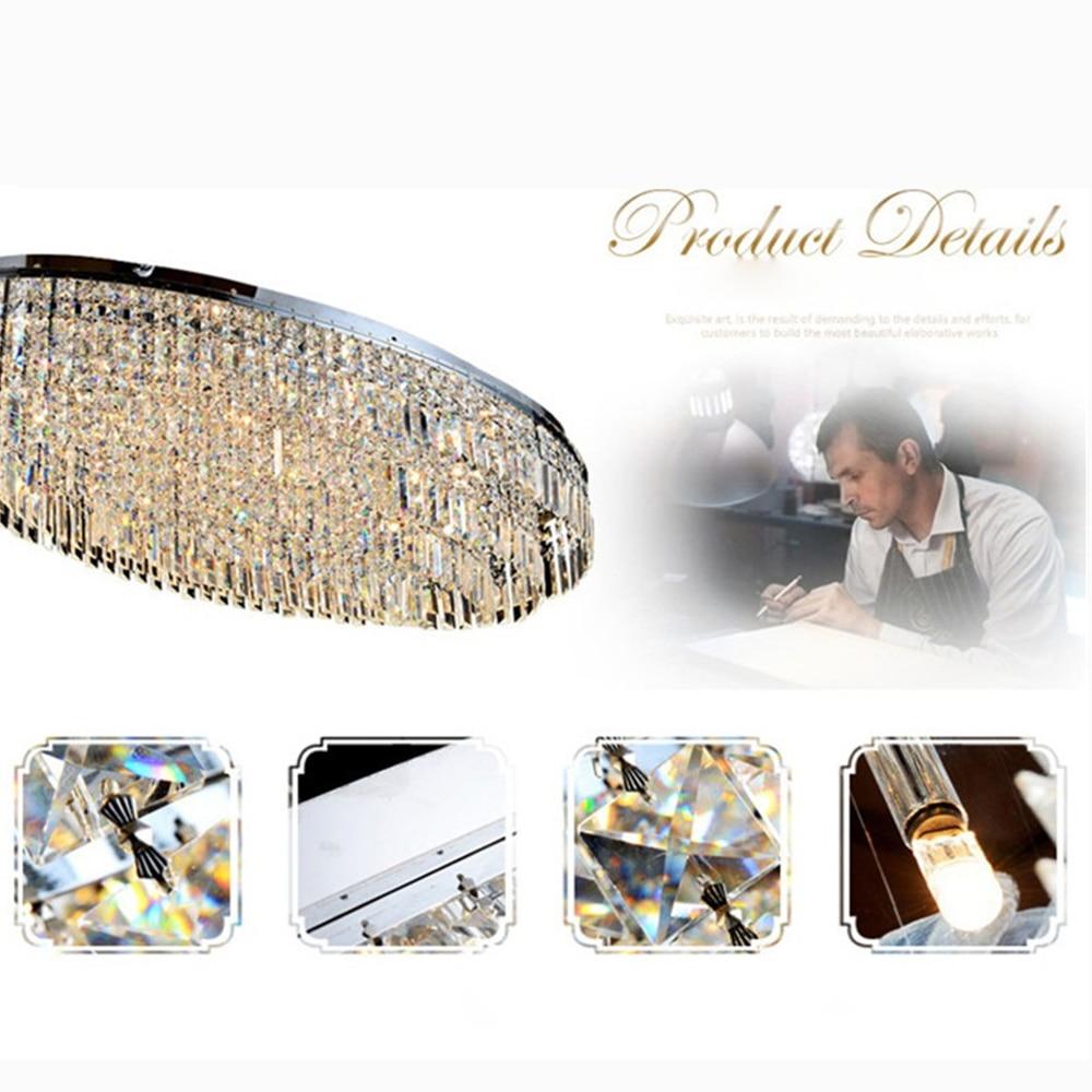 FUMAT mūsdienu griestu lampas grezns kristāla spīdums K9 kristāla - Iekštelpu apgaismojums - Foto 6