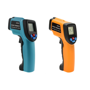 Image 2 - GM550 Digital Infrared Thermometer Pyrometer Aquarium Laser Thermometer Outdoor Thermometer IR Laser Point Tool