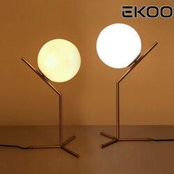 EKOO złote wzory nowoczesne LED tabeli lampka biurkowa lampa odcień światła tabeli szklane lampa na stół lampa lampka na biurko lampy światło dla sypialni podłogowe salon łóżko