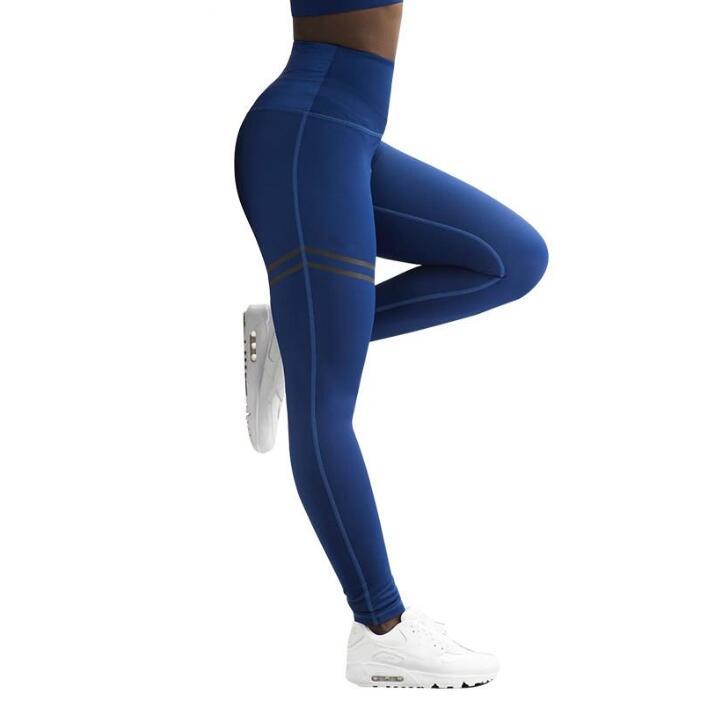 f18080b7b91d1 Activewear High Waist Fitness Leggings Women Pants Fashion Patchwork Workout  Legging Stretch Slim Sportswear Jeggings