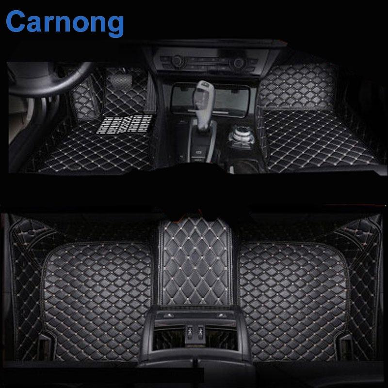 buy car floor mat for ford focus leather artificial protect car interior carpet. Black Bedroom Furniture Sets. Home Design Ideas
