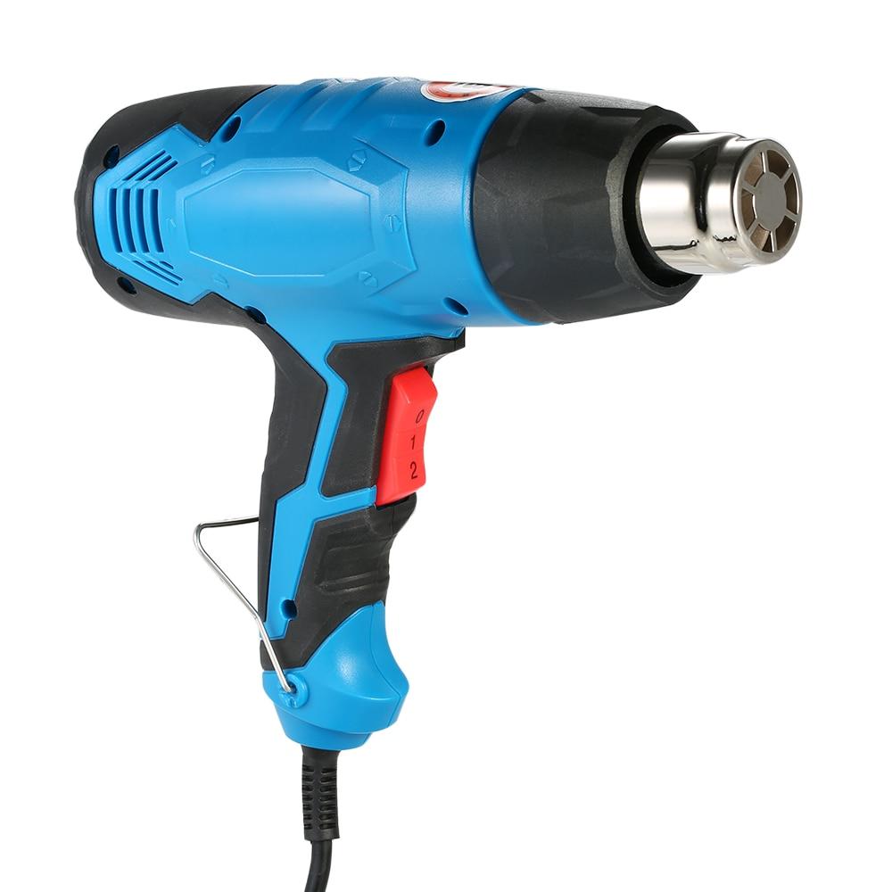 2000W High Quality Handheld Temperature controlled Electric Hot Air Gun Adjustable Heat Gun Tool AC220V authenticate heat gun mini electric tool with adjustable temperature plastic welding hot air gun hp700b