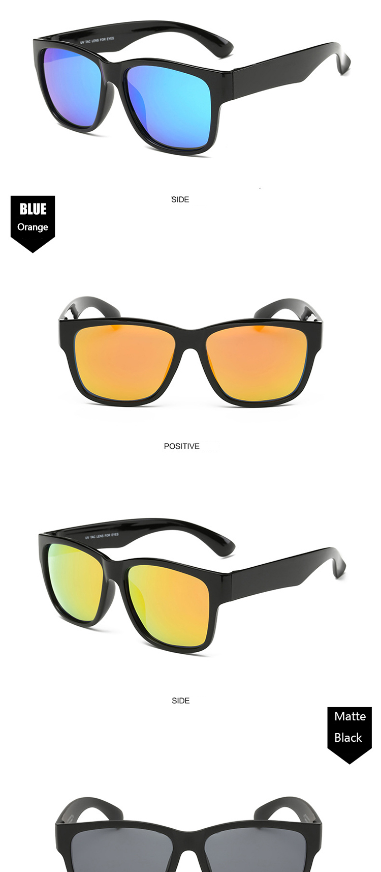 YYTZM Óculos Super Light TR90 Polarizada Clássico colorido óculos homens  óculos de sol das mulheres óculos de sol oculos de sol masculino 308cf95b86