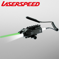 Laserspeed Military Tactical Laser Flashlight Hunting Rifle Scope Low Profile Shooting Outdoor Red Dot Lazer Gun Accessories