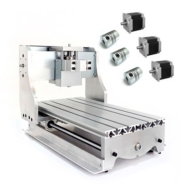 DIY CNC frame for CNC router Engraving Machine 3020Z with ball screw 30x20cm
