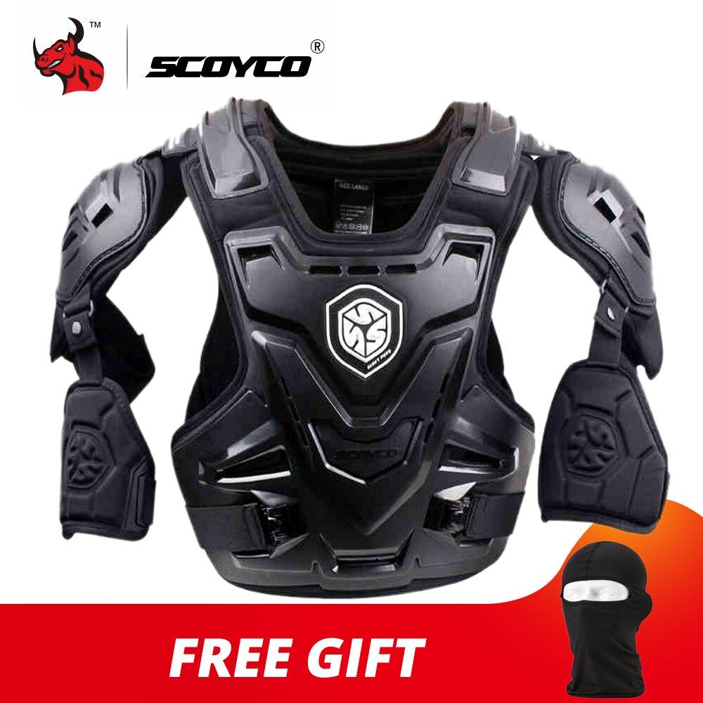 SCOYCO CE moto armure Motocross poitrine dos protecteur armure gilet moto veste course protection corps garde MX armure