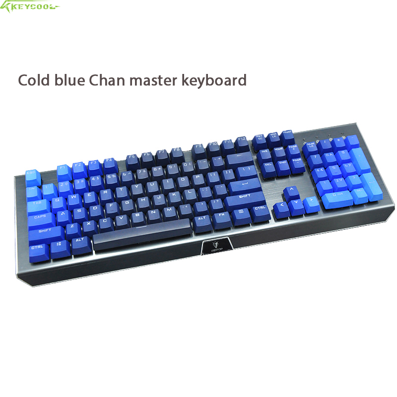 Wired 104 Mechanical Keyboard Gaming Real RGB LED Backlits Anti-Ghosting Teclado Mecanio With PBT Keycap For Computer Gamer motorspeed bluetooth usb wired mechanical keyboard 87 keys real rgb backlight blue switch for laptop desktop for gamer computer