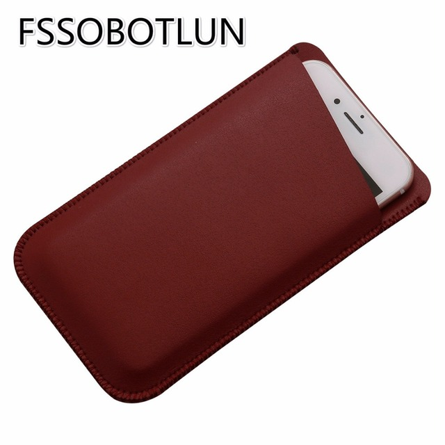 For Oukitel K6000/ U8 Double layer Microfiber Leather Phone sleeve Cover Pouch Cases Pocket UMiDIGI Z Pro/ Z/ Plus E/ UMi Plus