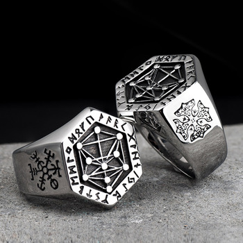 Nordic Mythologic Viking Ring