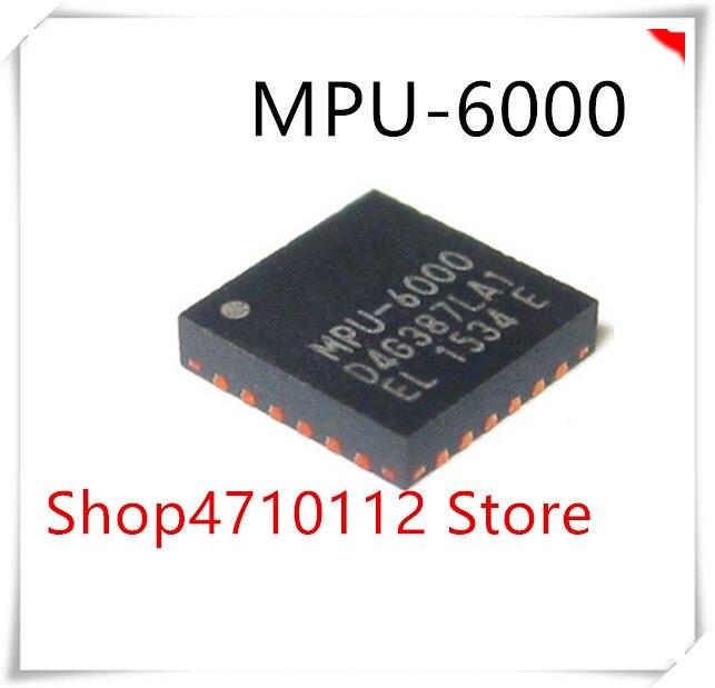 NEW 5PCS LOT MPU 6000 MPU6000 GYRO ACCELEROMETER 6AXIS QFN 24 IC