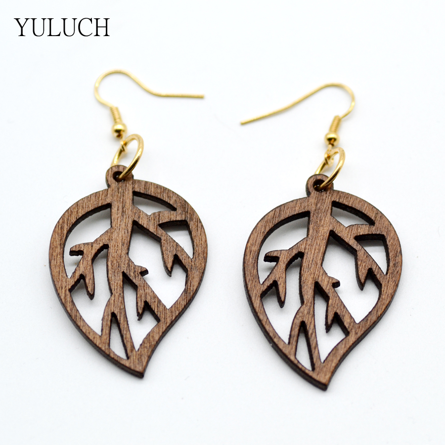 Good Quality Woman Earrings African Wood Earrings Jewelry ...