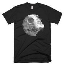 Star wars death star Graphic tee - Mens Funny T-SHIRTS Free shipping Print T Shirt Short Sleeve Hot Tops Tshirt Homme